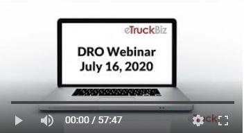 DRO Webinar