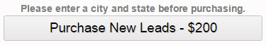 Purchase New Leads Button